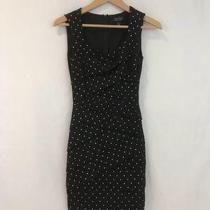 White House Black Market black dress with studs